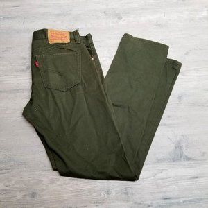 Levi's 511 Olive Slim Fit Jeans. Perfect! Comfy!
